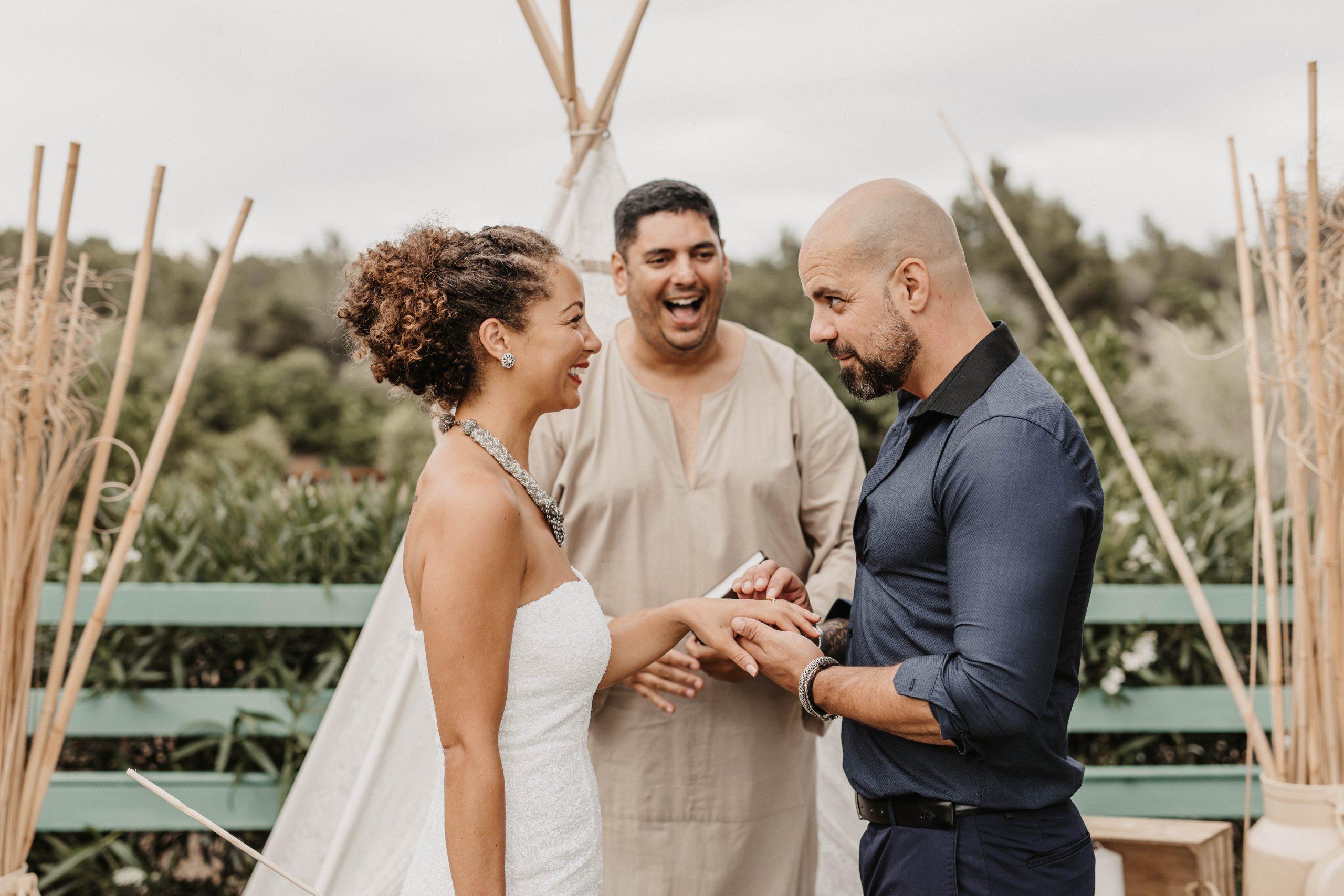 Ibiza Wedding Celebrant, Oso